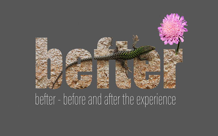 befter - before and after the experience, a teaching and learning concept in 7 steps